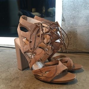 Sam Edelman Yardley Tie Up Heels
